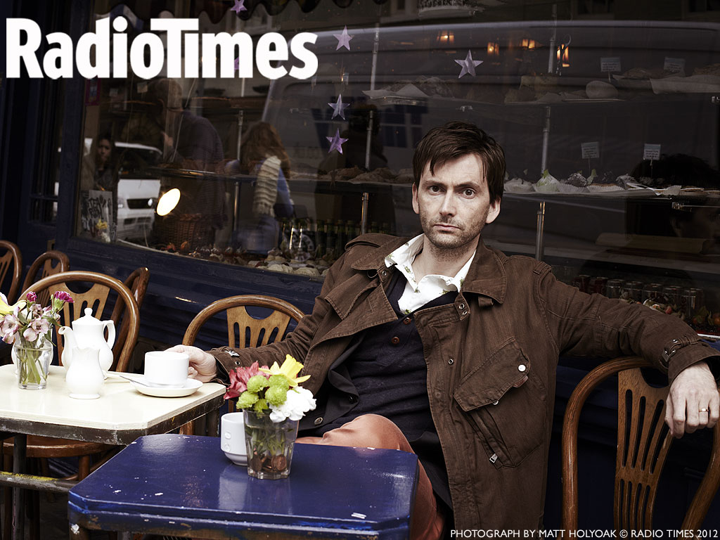 Radio Times: David Tennant wallpaper